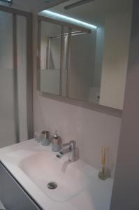 Een badkamer bij Studio Beach-la-Mar