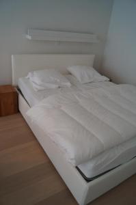 Een bed of bedden in een kamer bij Studio Beach-la-Mar