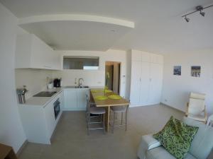 Küche/Küchenzeile in der Unterkunft Apartment S7