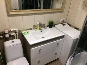 Ванная комната в Апартаменты на Ленина 145