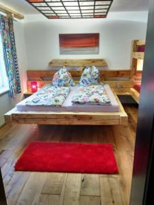 Ein Bett oder Betten in einem Zimmer der Unterkunft Casa Piedro