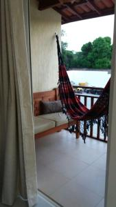 A balcony or terrace at Solar Agua Apartamentos