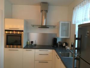 Köök või kööginurk majutusasutuses Smárinn Apartment