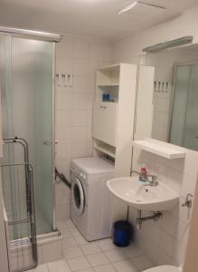 Kupatilo u objektu 1,5 Zimmer-Apartment