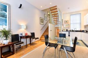 A seating area at Moreton Street Penthouse