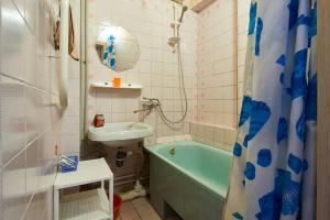 Ванна кімната в Home Hotel Apartments on Kontraktova Ploshcha