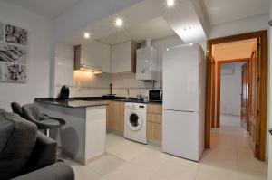 Küche/Küchenzeile in der Unterkunft Alojamiento Santa Rosa