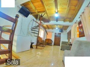 Zona de estar de Villa Ribera Del Yaque