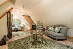 Oleskelutila majoituspaikassa OldHouse Apartments