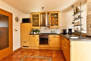 Küche/Küchenzeile in der Unterkunft Ferienhaus Holtmann