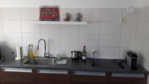 Küche/Küchenzeile in der Unterkunft Goody
