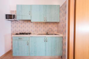 Cucina o angolo cottura di Residence Fontana Vecchia