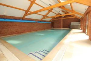 The swimming pool at or near Molesworth Barn