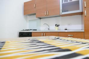 A kitchen or kitchenette at Visa Residence