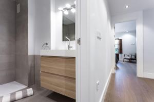 A bathroom at Plaza de Refinadores