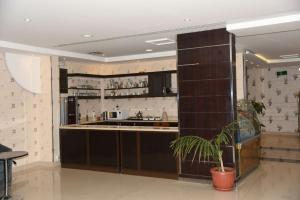 A kitchen or kitchenette at Nafa Suite Apartment 2