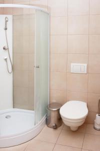Ein Badezimmer in der Unterkunft Castle Iris Apartment