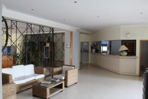 The lobby or reception area at Apartamentos Magnolia Mar