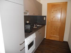 Cuina o zona de cuina de Appartementhaus Wetterloch