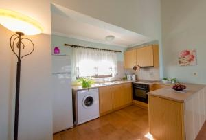 A kitchen or kitchenette at Ioanna Villa