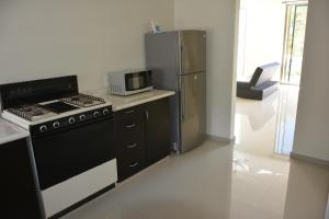 A kitchen or kitchenette at Casa Olliver and Siham