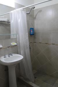 A bathroom at Malvinas