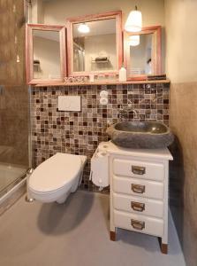A bathroom at Schlafstube Bamberg