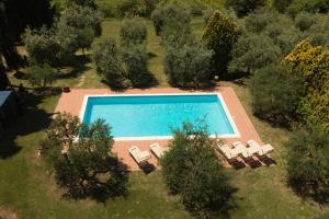 A view of the pool at Agriturismo Villa Panorama or nearby