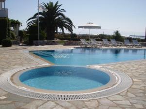 Het zwembad bij of vlak bij Elizabeth