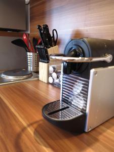Принадлежности для чая и кофе в Kitzbühel Apartments Haus Brugger