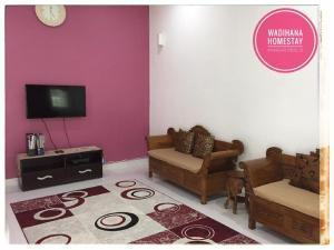 Ruang duduk di Wadihana Homestay(Muslim Only)