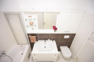 A bathroom at Apartment Zara Bianca