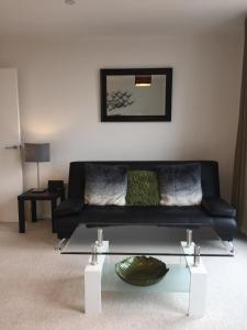 A seating area at The Heights Apartment