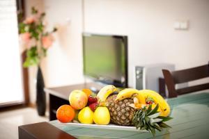 Maistas apartamentų viešbutyje arba netoliese
