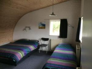 Säng eller sängar i ett rum på Vlinderhuis 21B