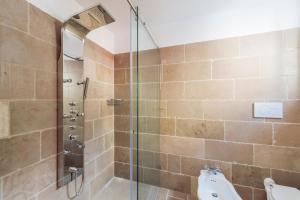 A bathroom at Casa Malu