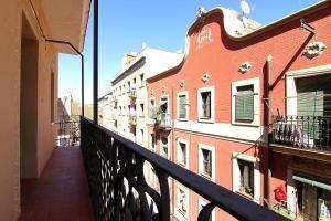 A balcony or terrace at ClassBedroom Beach Barcelona Apartments