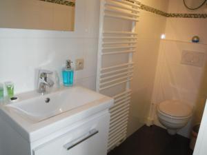 Salle de bains dans l'établissement Residentie Royal Park