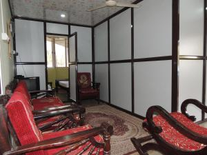 The fitness centre and/or fitness facilities at Dandeli Home stay
