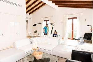 Zona de estar de Villa Jade by Cap Vermell Estate