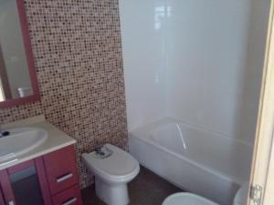 A bathroom at Franteran