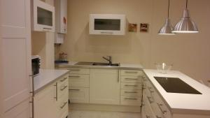 A kitchen or kitchenette at Apartamento Peregrina