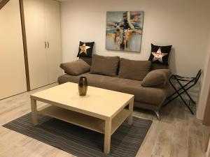 Гостиная зона в Goldcentral Apartment Gozsdu