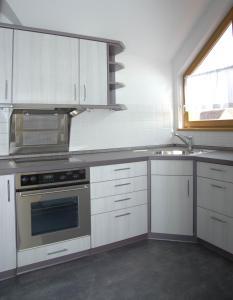 Küche/Küchenzeile in der Unterkunft Ferienhaus Bauerngarten