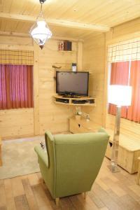 TV in/ali zabaviščno središče v nastanitvi Chalet Pokljuka