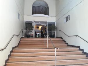 The facade or entrance of Ging's Apartment near Airport