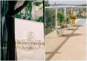 A balcony or terrace at Villa Marina