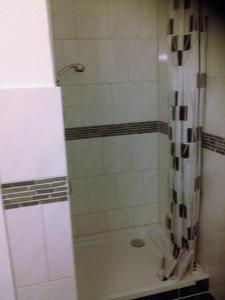 Ein Badezimmer in der Unterkunft Apartment Helios