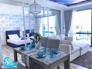 พื้นที่นั่งเล่นของ Santora Hua Hin by Skystar