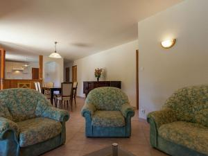 A seating area at Beautiful Holiday home in Masclat with Enclosed Garden